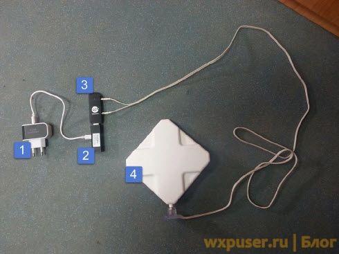 система для усиления 3g и 4g сигнала
