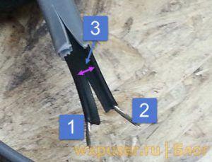 составные части греющего кабеля