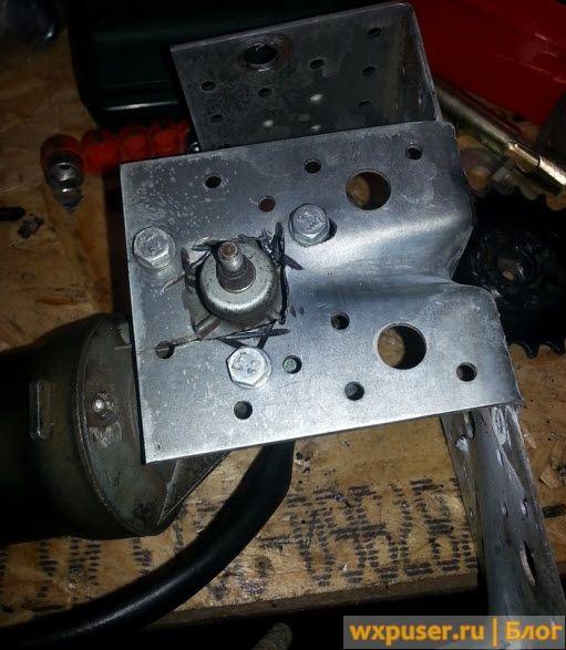 Мотор для раздвижных ворот своими руками 48