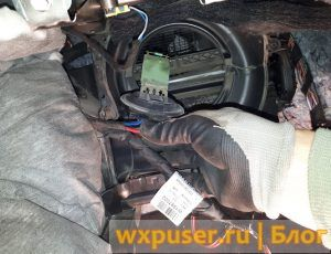 ремонт печки фольцваген поло своими руками