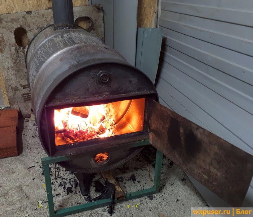 Печь дровяная своими руками 6